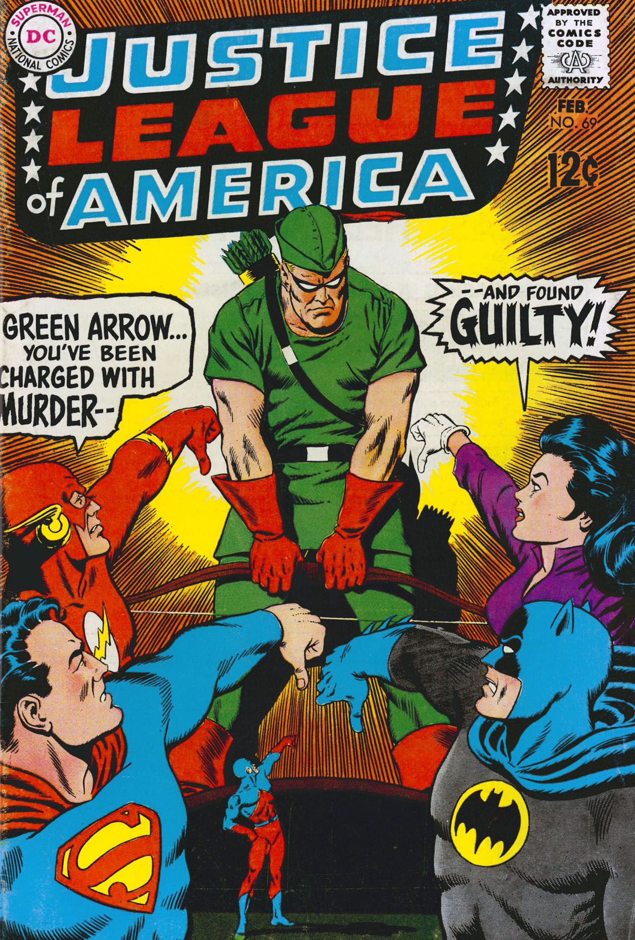 Justice League of America (1960) 69 Page 1