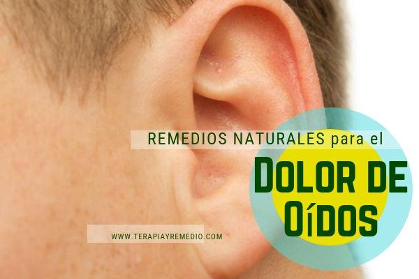 Remedios naturales para aliviar el dolor de oídos