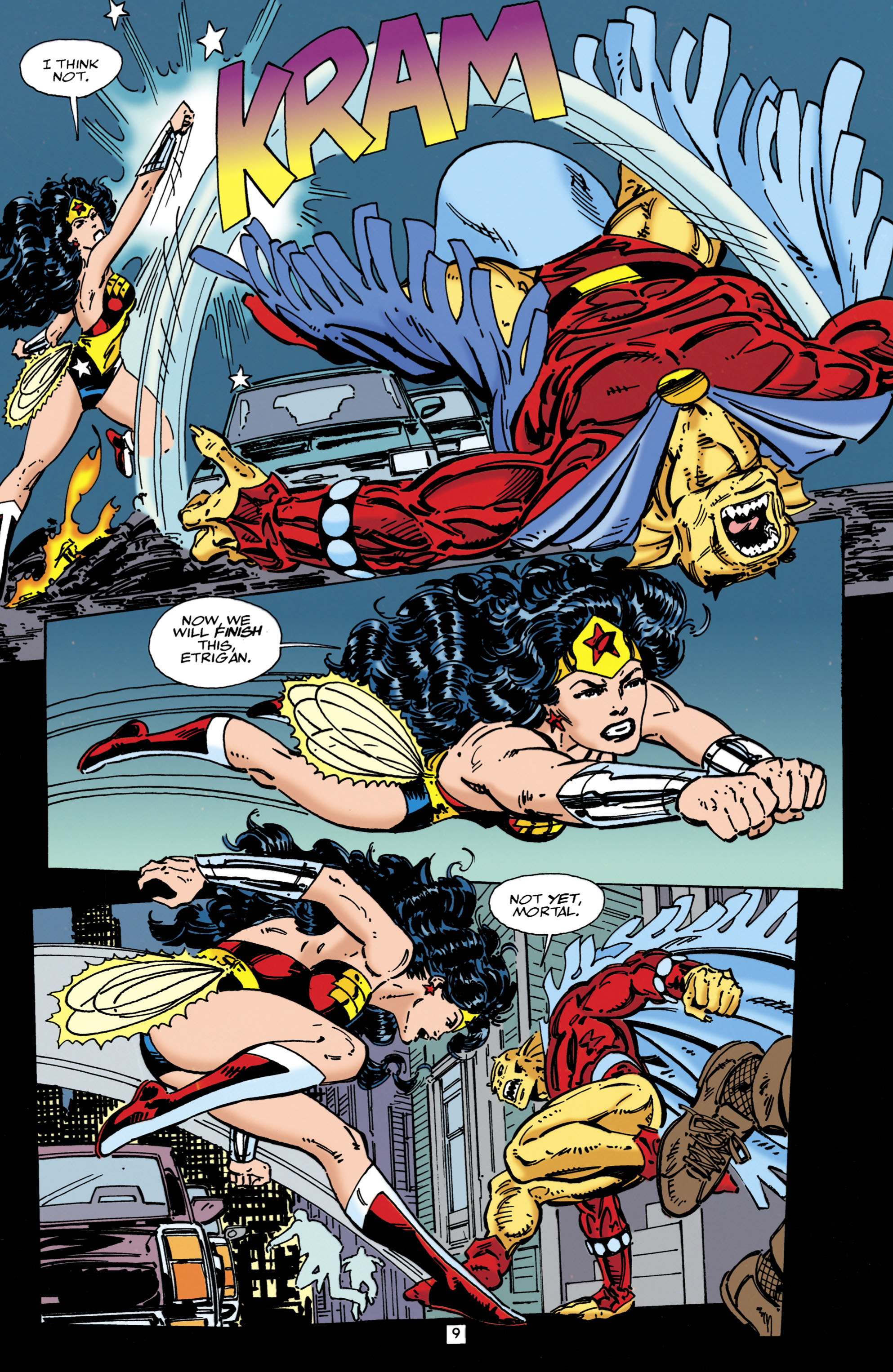 Read online Wonder Woman (1987) comic -  Issue #107 - 9