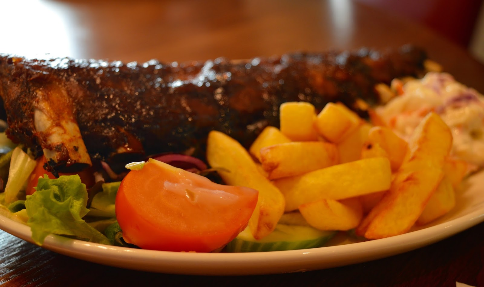 Derwent Crossing Brewers Fayre near intu Metrocentre | Play Area & Children's Menu Review - BBQ ribs