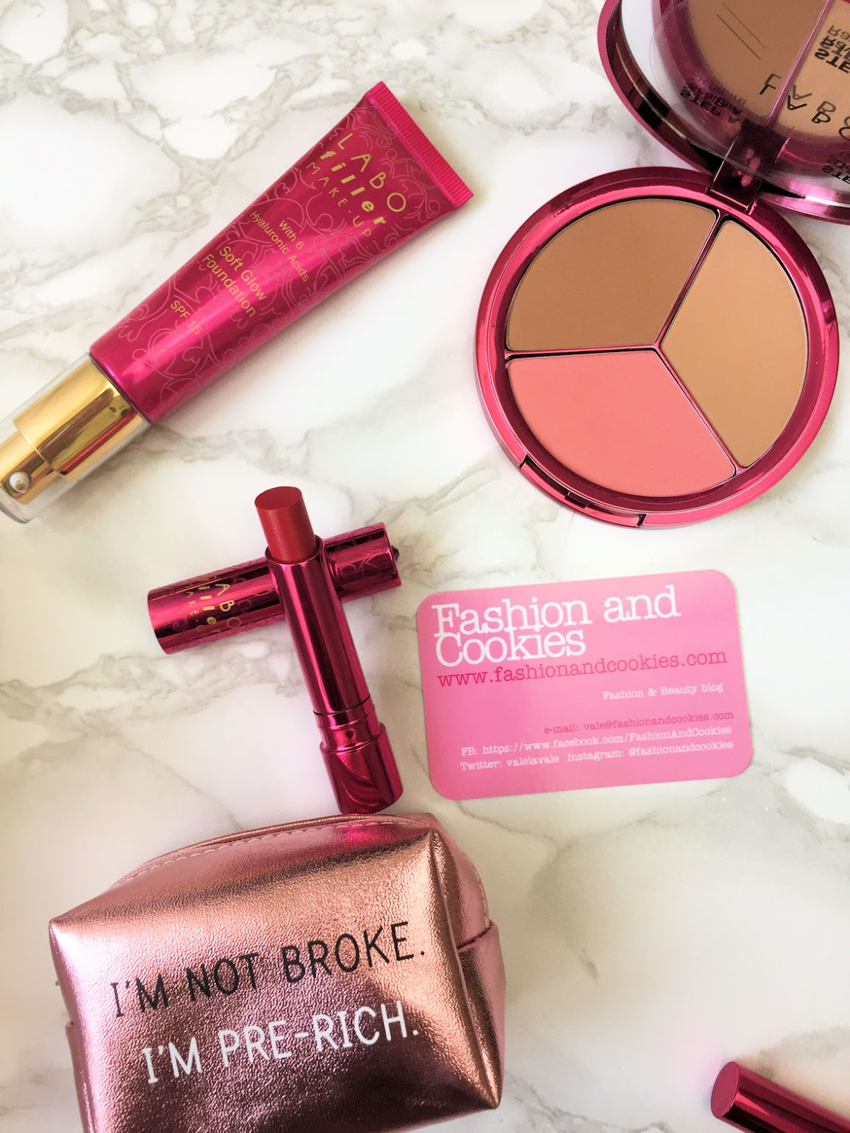 Labo Filler Make-Up Luxury Collection review su Fashion and Cookies beauty blog, beauty blogger