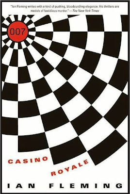 Casino Royale by Ian Fleming - book cover