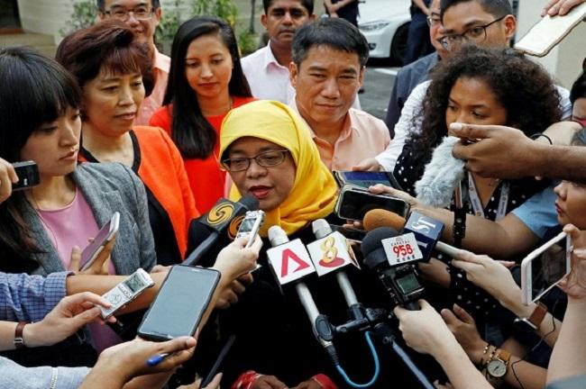 Negara Singapura akan dipimpin oleh seorang presiden wanita muslimah.