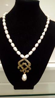 Collana donna con perle