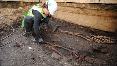 Medieval church found beneath Lincoln Castle
