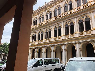 La Habana vieja. Hotel Sevilla.