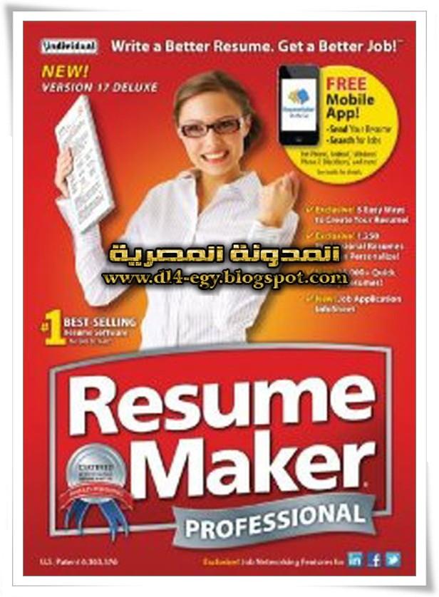 resume maker pro 17