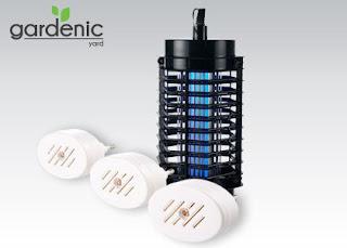 Lampa owadobójcza lub odstraszacz komarów z Biedronki