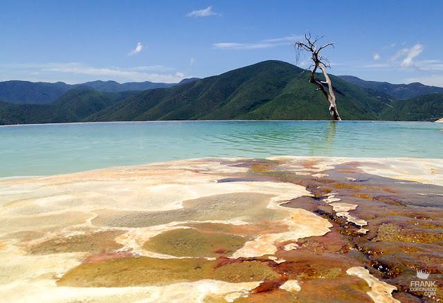 albercas infinitas de hierve el agua en Oaxaca