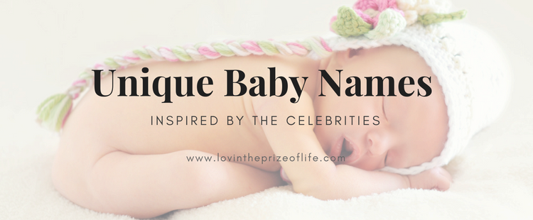 Unique Baby Names Inspired by the Celebrities