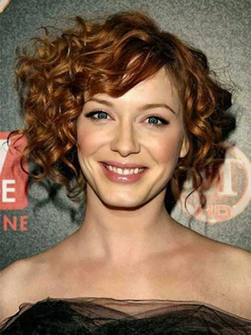 Stupendous Impressive New Short Curly Hairstyle Idea 2015 For Girls Jere Hairstyle Inspiration Daily Dogsangcom