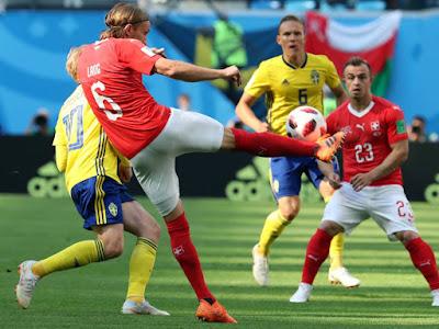 Inilah Alasan Mengapa Sedikit Keberuntungan Emil Forsberg Menyimpulkannya Sebagai Favorit Piala Dunia - Judisessions