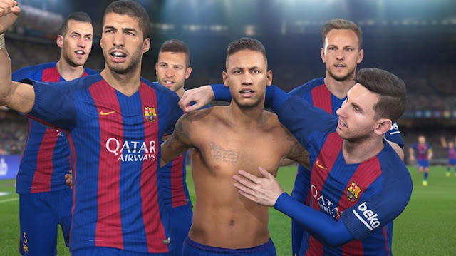 Pes 2017 For Android Full Apk+Data(Latest Version)