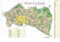 Plan Commune de Cour-Cheverny