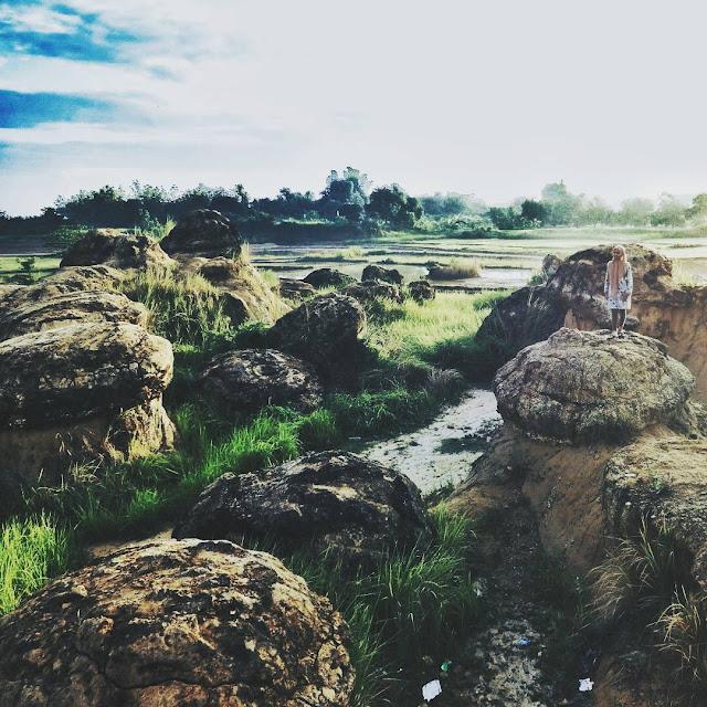 foto bukit jamur gresik