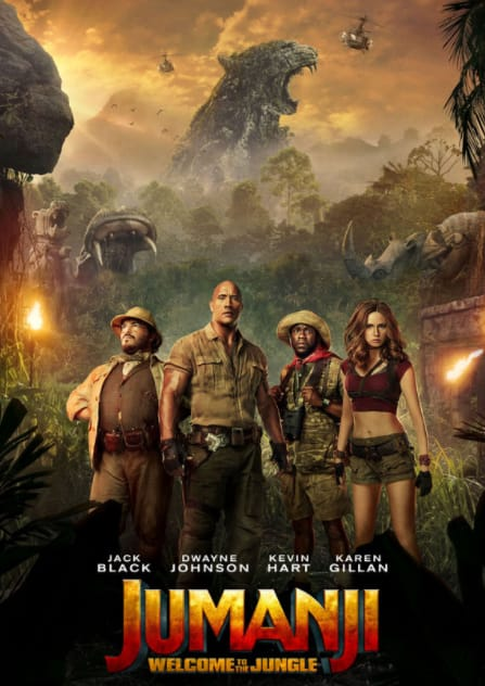 Download Jumanji: Welcome to the Jungle 2017 Full Movie