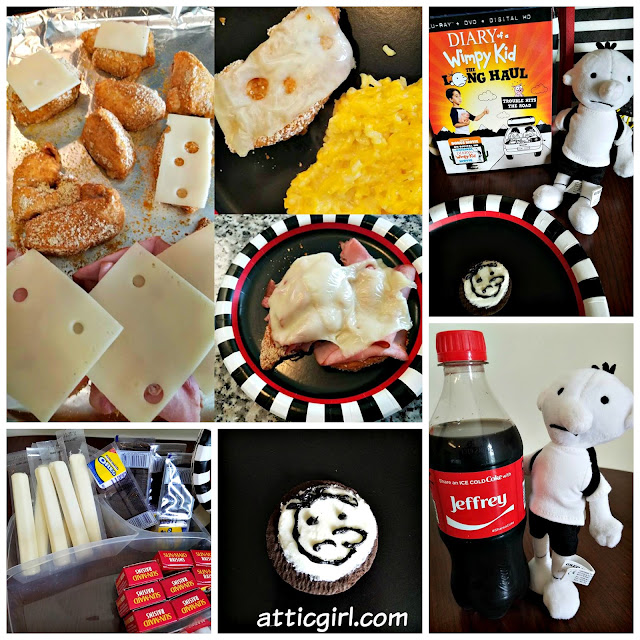 Diary of a Wimpy Kid Movie Night Snacks, Diary of a Wimpy Kid party food, Diary of a Wimpy Kid The Long Haul