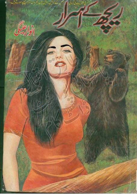 Reech Ke Asrar Urdu Book by Anwar Aligi Suspense Thriller Urdu Story