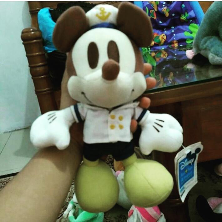 Boneka Mickey Mouse Sailor. koleksi boneka karakter (plushie) import  terbaru di bulan Maret 2017 d1d5b39394