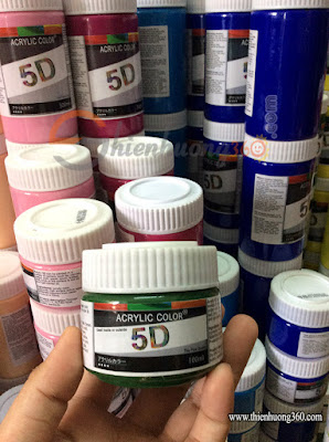 Màu Acrylic 100ml: Màu vẽ tranh tường cao cấp