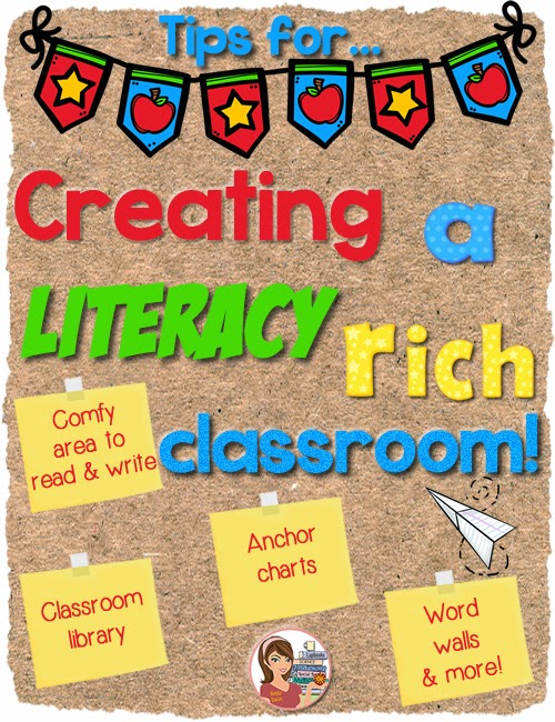 Classroom Design To Promote Literacy : Teachinginthesunshine