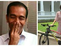 Dipanggil Jokowi, Raisa Langsung Dapat Hadiah Sepeda, Ditanya soal Ikan Tongkol?