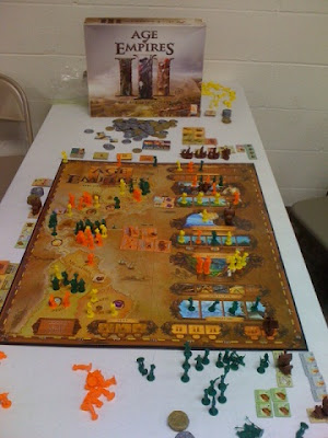 Age of Empires III game in play
