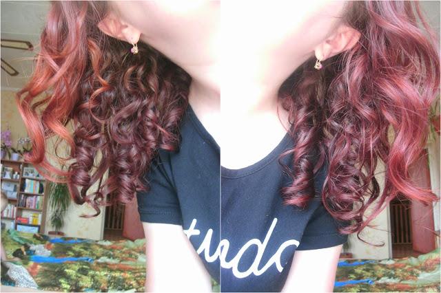Włosy w czerwcu 2016r.