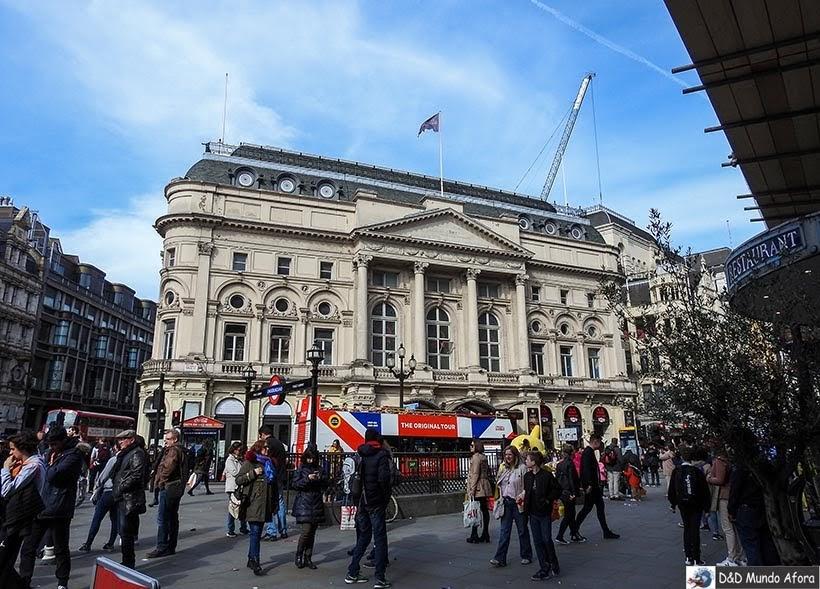 Picadilly - Diário de Bordo - 5 dias em Londres