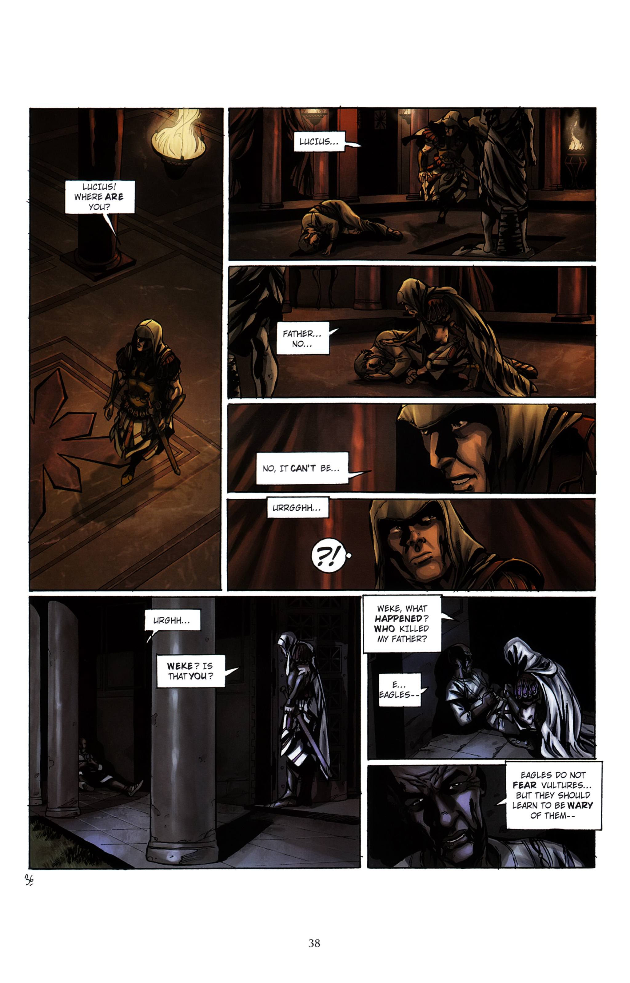 Read online Assassin's Creed (2012) comic -  Issue #2 - 42