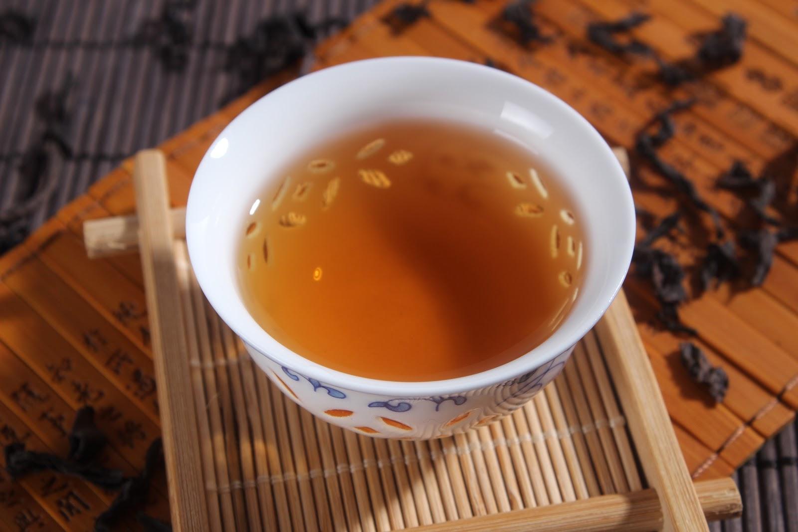 一杯の烏龍茶:大紅袍