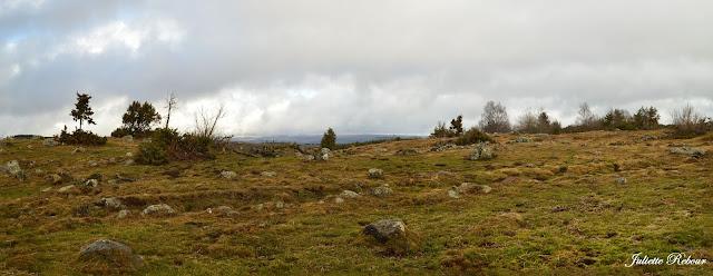 Paysages d'Auvergne dans le Cantal