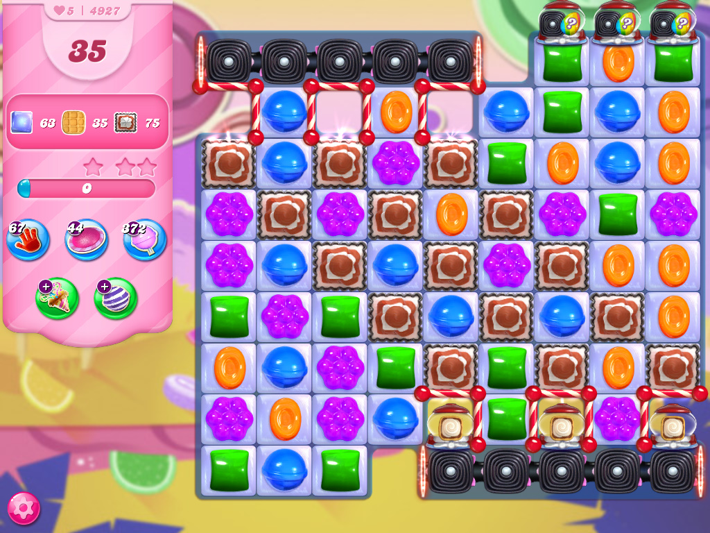 Candy Crush Saga level 4927