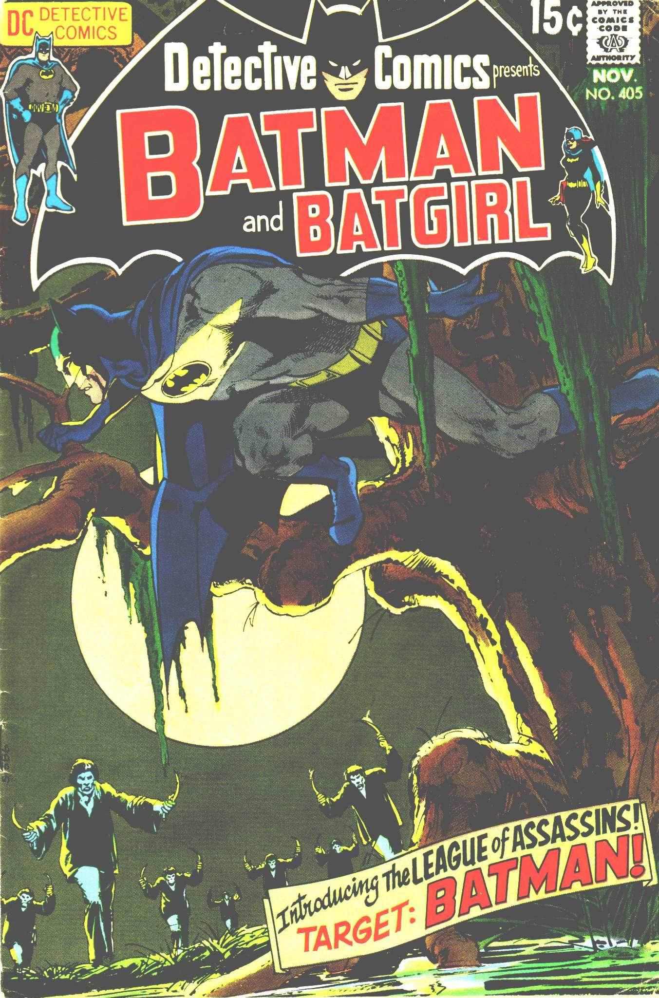 Detective Comics (1937) 405 Page 1