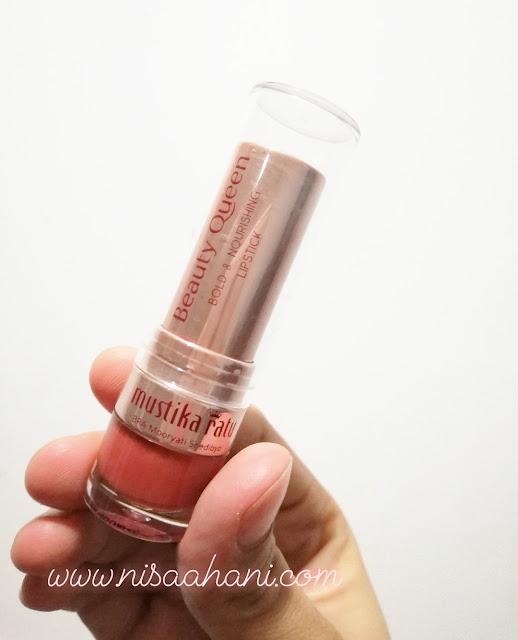 lipstik mustika ratu Nourishing Lipstick Nomor 09 Stunning Sepia