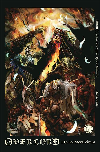 Actu Light Novel, Light Novel, Manga, Ofelbe, Overlord,
