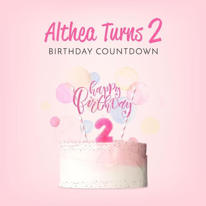 Althea Turns 2! Happy Birthday Althea