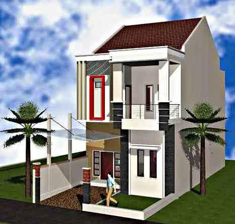 Inspirasi Model Desain Rumah Minimalis 2 Lantai Sederhana Mungil