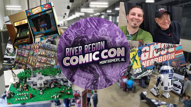 My Visit To River Region Comic Con 2019