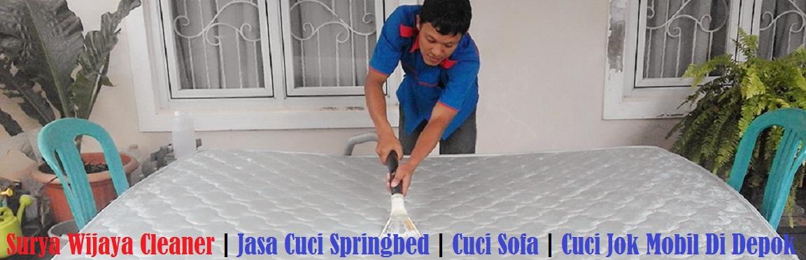 Cuci Springbed Depok Kondang Murah Super Bersih