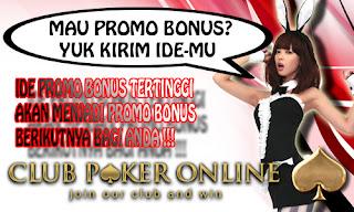 Kepada seluruh member setia Club Poker Online Indonesia yang terhormat Info Polling Promo Bonus Game Judi Poker Online Indonesia