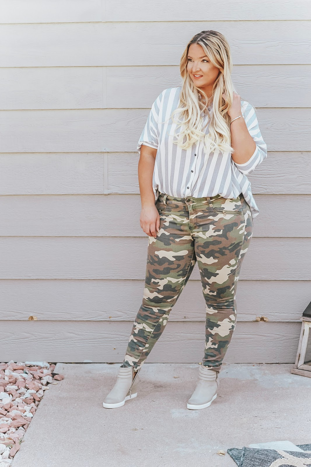Print Mixing, one of the hottest Fall trends this year, featured by top Denver fashion blog, Delayna Denaya