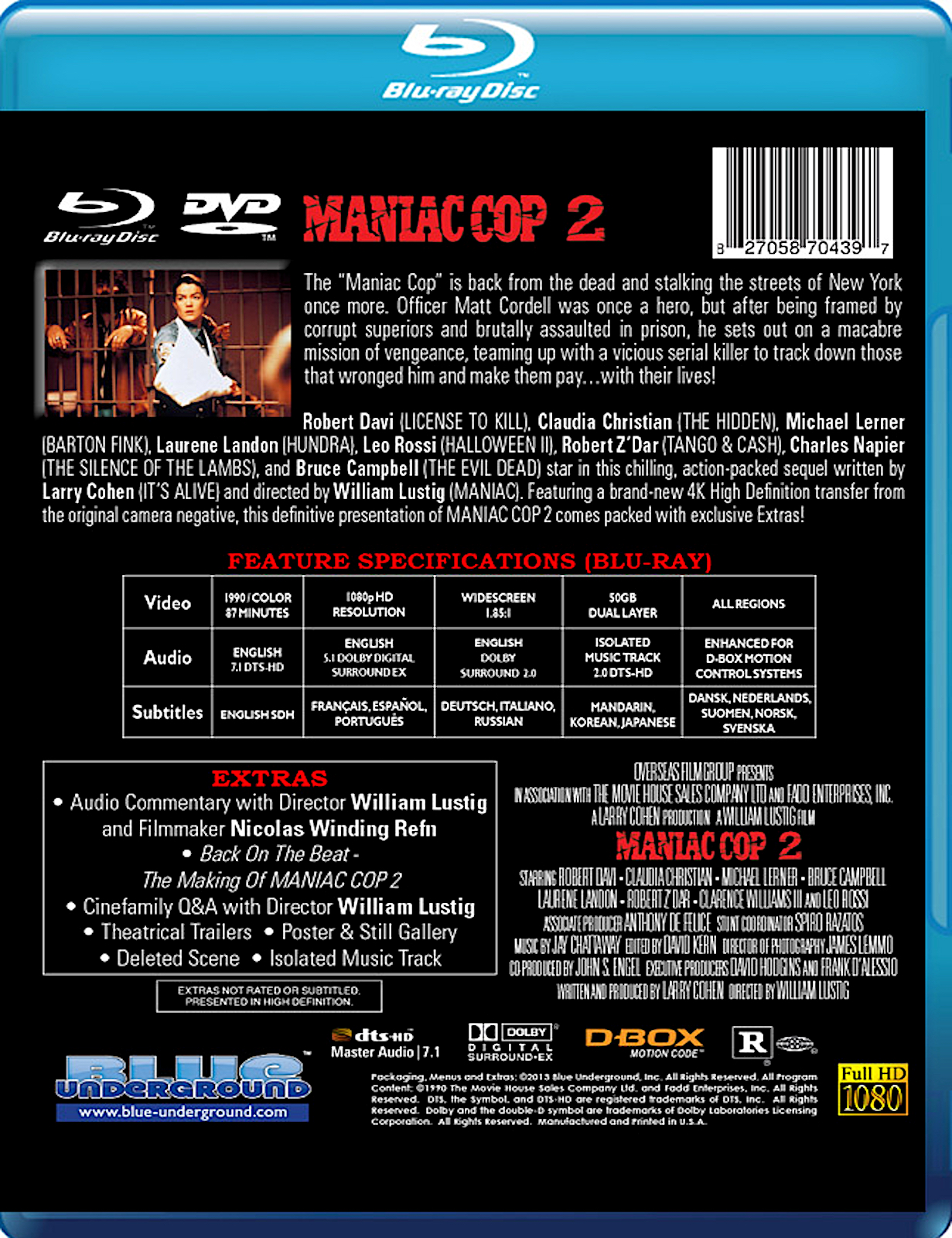 Blu-Ray And Dvd Covers Blue Underground Blu-Rays The -5898