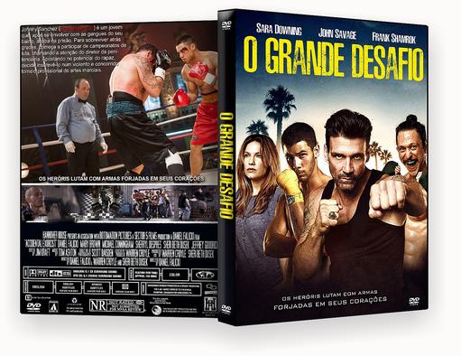 CAPA DVD – O Grande Desafio Dublado – ISO