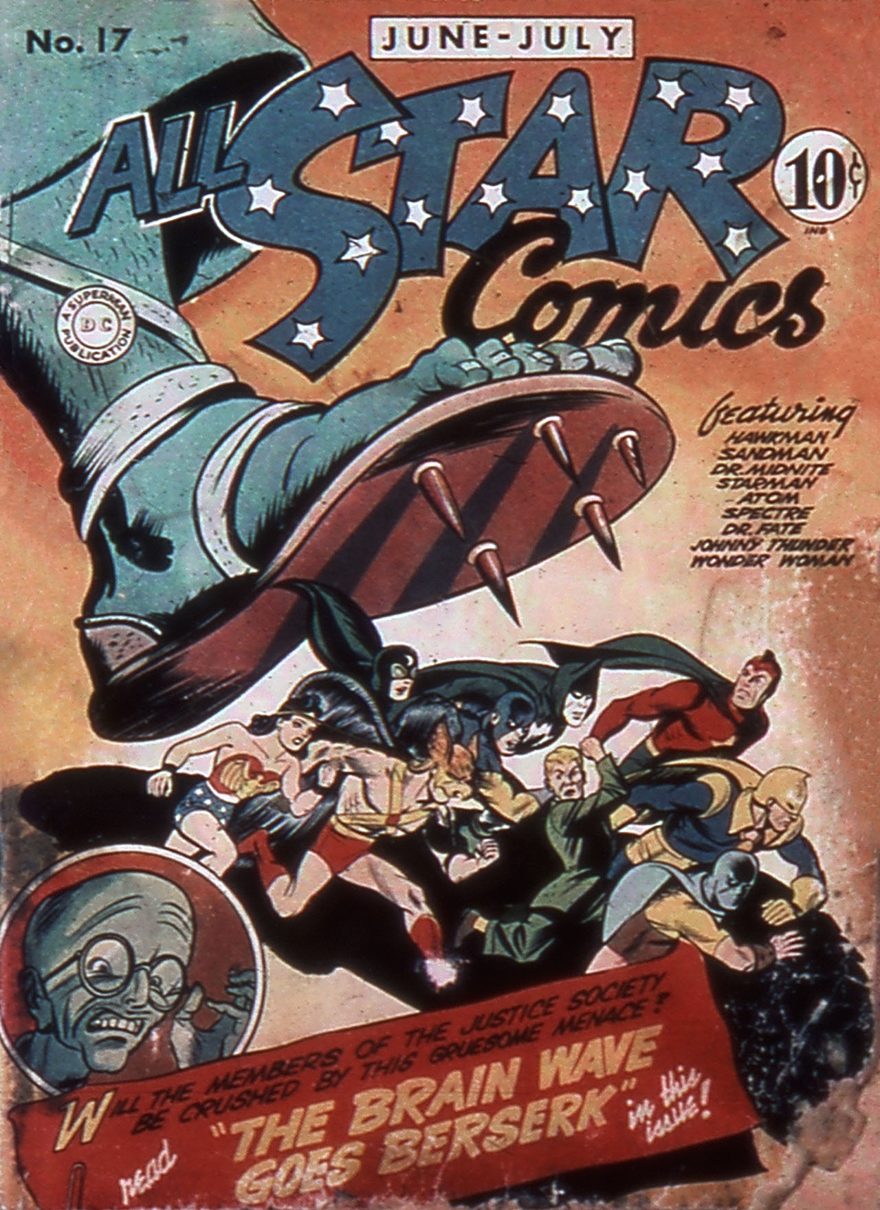 Read online All-Star Comics comic -  Issue #17 - 1