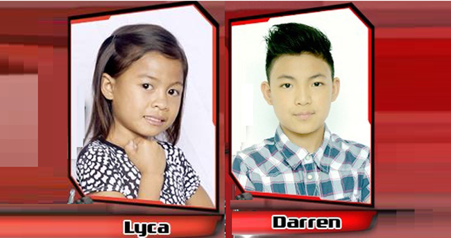 Darren and Lyca from Team Sarah Advanced to the Semi-finals on The Voice Kids PH