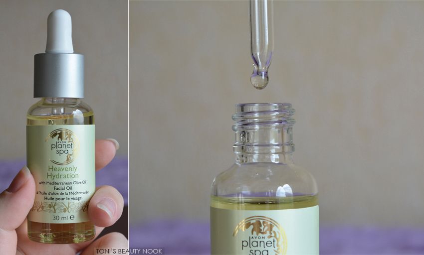 avon planet spa olive facial oil