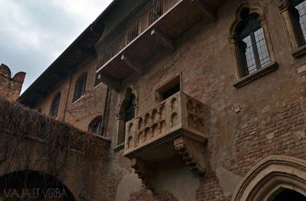 Casa de Julieta en Verona, Italia. Viaja et verba