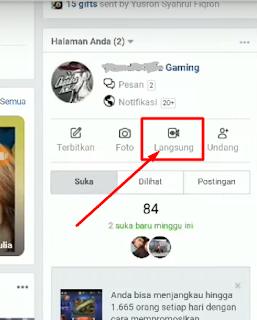cara live streaming game di halaman facebook lewat hp