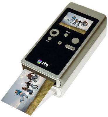 Teléfono celular con impresora integrada